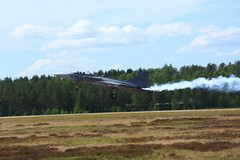 FinAF 100 years_2018_06_17_0221 (FarmerJohnn) Tags: ilmavoimat finnishairforce100years finnishairforce midnighthawks 100v ilmavoimat100v airshow ilmailunäytös juhlavuosi tikkakoski hawk trainer jet hawkmk66andmk51 boeingfa18chornet hornet saabgripen saab gripen draken saabdragen saabsafir glostergauntlet fougamagister fouga magisten safir valmetl70vinka aw119kekoala nh90 pilatuspc12 gateslearjet35as casac295m vinka pilot lentäjä 17thjune2018 blue sky sininen taivas show air jyväskyläairport finland canon canoneos5dmarkiii canonef70200l40isusm juhanianttonen