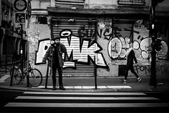 Paris (tomabenz) Tags: france noiretblanc noir blanc streetshot mono sony a7 urban street photography paris a7rm2 people urbanexplorer bw streetview black white europe monochrome bnw blackandwhite sonya7rm2 sonya7 streetphotography
