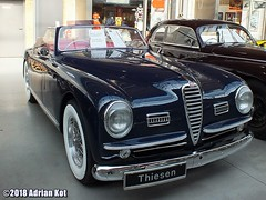 1949  Alfa Romeo 6C 2500 SS Cabriolet (Adrian Kot) Tags: 1949 alfa romeo 6c 2500 ss cabriolet