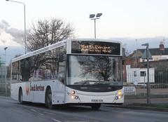 Coach Services Ltd . Thetford , Norfolk . BU16OZN . Bury St Edmonds , Suffolk . Wednesday 12th-December-2018 . (AndrewHA's) Tags: suffolk burystedmunds bus coach services thetford norfolk volvo b8rle mcv evolution bu16ozn not service white