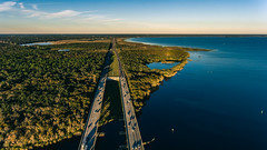 I-4 (3rd-Rate Photography) Tags: landscape drone dji djiphantom4 phantom4 aerial aerialphotography road stjohnsriver river water trees cars travel sanford florida 3rdratephotography earlware 365 lakmonroe dronephotography
