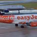 easyJet Airbus A319-111 G-EZIO UNICEF Livery