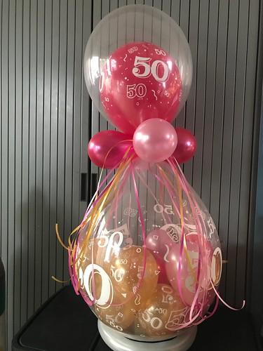 Kadoballon 50 Jaar