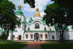 *** (PavelChistyakov) Tags: ua ukraine trip kiev church architecture sony alpha dslr digital raw rpp lightroom city urban green sky