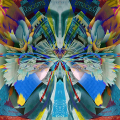 of pretty facades... (Mark Noack) Tags: light color photoshop layer layering surreal expressionism abstract psychedelic futurist abstraction collage awardtree shockofthenew