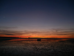 Sunset 2/52 (auroradawn61) Tags: lumixgx80 poole dorset uk england january 2019 sea coast sand bay interestingness explored 52weeksin2019