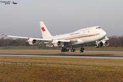 Boeing 747 -4F6 Bahrain Royal Flight A9C-HAK 28961 Mulhouse décembre 2018 (Thibaud.S.) Tags: boeing 747 4f6 bahrain royal flight a9chak 28961 mulhouse décembre 2018