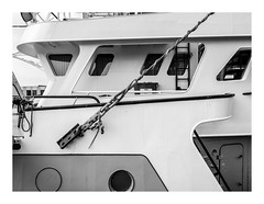 170726_112215_oly-PEN-f_oostende_the crystal ship 16/55 (A Is To B As B Is To C) Tags: aistobasbistoc b belgië belgium oostende ostend haven harbour hendrikbaelskaai visserijdok fishing boat ship vissersboot olympus penf bw blackwhite blackandwhite monochrome detail fragment thecrystalship