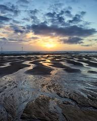 Sunrise (PeskyMesky) Tags: aberdeenshire blackdogbeach sunrise sunset water sky cloud sand canon canon6d eos landscape