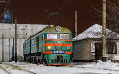 VL8-1301   Nizhnedneprovsk-Uzel, UA   12.01.2019 (Alex-ZZZ) Tags: electric locomotive vl81301 waiting for maintenance station nizhnedneprovskuzel электровоз вл81301 на птол ст нижнеднепровскузел vl8 вл8