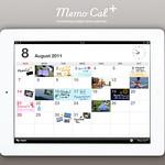 iPadアプリ メモカルプラスの写真