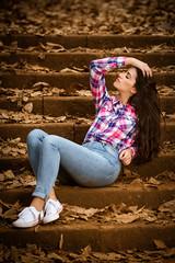 "DSC_8445-Editado.jpg (Photo Brown) Tags: portrait retrato offcameraflash woman girl modelo model sigma sigmaart sigma85 85mm light luz strobist nikon d750 eyes hair makeup mua grancanaria canary islands ""canary islands"" osorio face aodmoreno"