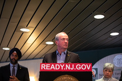 Governor Phil Murphy holds a press conference on yesterday's snowstorm at the Statewide Traffic Management Center in Woodbridge on Friday, November 16th, 2018.  Edwin J. Torres/Governor's Office. (GovPhilMurphy) Tags: snowstorm snow stmc traffic hazard weather njtp dot njsp