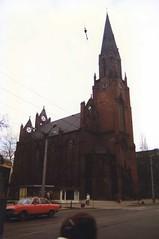 Poznań (Ray's Photo Collection) Tags: poland polish winter snow tour rail poznań poznan church