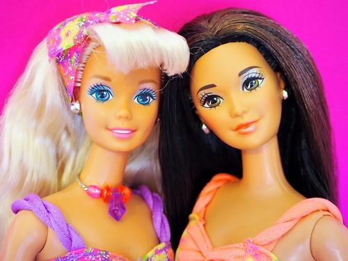 Barbie Doll Glitter Beach Kira 1992 New in Box