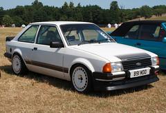 1984 Ford Escort Base / RS1600i replica (B91 MDD) - TRAX 2018 - Donington Park (anorakin) Tags: 1984 ford escort base rs1600i replica b91mdd trax 2018 doningtonpark