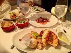 Seafood For Supper (Neal D) Tags: ncl norwegianbreakaway oceanblue restaurant cruiseship seafood geoffreyzakarian