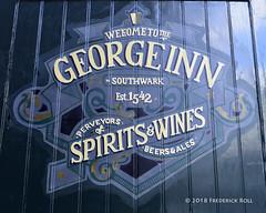 George Inn (© Freddie) Tags: london se1 borough lbsouthwark boroughhighstreet coachinginn georgeinn fjroll ©freddie