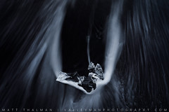 Black Crystal (Matt Thalman - Valley Man Photography) Tags: atlanticocean diamondbeach easternregion iceland black blacksand blacksandbeach glacialice ice ocean sand seafoam water