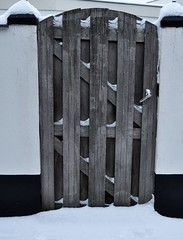 Timber DDD in snow (wilma HW61) Tags: ddd tdd deur door porta porte entrance entrée snow schnee sneeuw winter vinter hiver inverno hout wood timber nederland niederlande netherlands nikond90 hattem holland holanda paysbas paesibassi paísesbajos europa europe outdoor wilmahw61 wilmawesterhoud doorway doorgang dwwg portal