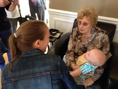 "Grandma Shirley Holds Paul • <a style=""font-size:0.8em;"" href=""http://www.flickr.com/photos/109120354@N07/46039170072/"" target=""_blank"">View on Flickr</a>"