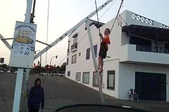 trampoline 3 (tcbuzz) Tags: lanzarote 2013 canary islands spain atlantic holiday sunshine