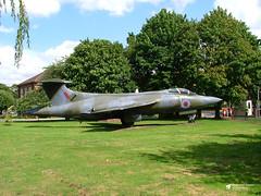 XK526 Blackburn Buccaneer S.2, Royal Air Force, RAF Honington, Bury St Edmunds, Suffolk (Kev Slade Too) Tags: xk526 blackburn buccaneer royalairforce rafhonnington burystedmunds suffolk gateguard