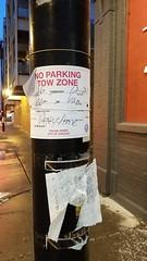 No Parking (trainphotoz) Tags: noparking towawayzone