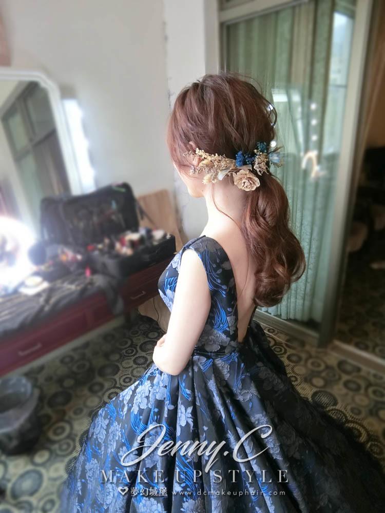【新秘蓁妮】bride柔燁 訂結婚造型 /全國花園鄉村俱樂部