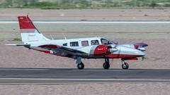 Piper PA-34-200T Seneca II N969WA (ChrisK48) Tags: 1980 piperpa34200t senecaii n969wa kdvt airplane phoenixaz aircraft dvt phoenixdeervalleyairport