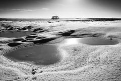 Arctic Copehill Down (Paul Timlett) Tags: landscape winter wiltshire bnw nikond850 salisburyplain blackwhite outdoors snow monochrome copehilldown