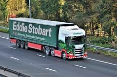 Eddie Stobart 'Janet Blanche' (stavioni) Tags: eddie stobart truck trailer lorry esl scania janet blanche new next gen generation r450 h5337 po68xyr