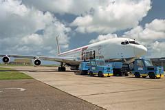 B707 (HK3030-X) Tampa Airlines (boeing-boy) Tags: b707 boeingboy mikeling manston mse tampa hk3030x