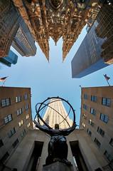 5th Avenue Art Deco Atlas (Dan Haug) Tags: atlas statue artdeco style 5thave manhattan newyorkcity nyc morning stpatrickscathedral catholic wideangleview lookingup xt3 samyang 8mm fisheye samyang8mmf28 fujifilm fujixseries getty gettyimages