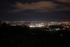 Mysore City Nightshot (paulinuk99999 (lback to photography at last!)) Tags: paulinuk99999 mysore cityscape nigfht nightshot india ilce7m3 sal1635za hills chamundi hillside