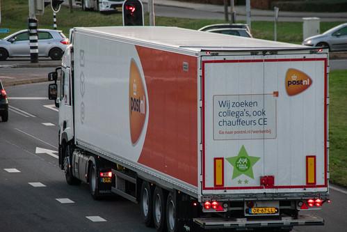 Algemeen / Vrachtwagen PostNL (Nederlandse post)