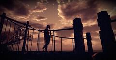 Play Me Like A Violin (foodie_guy2019) Tags: landscape self portrait dark light sky clouds emotion darkness alone freshstart storm rain bridge ocean sunset lostdreams