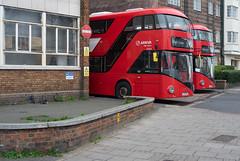 Arriva London LT723 & LT725 (cybertect) Tags: arriva arrivalondon brixtongarage carlzeissplanart50mmf14mm lt723 lt725 ltz1723 ltz1725 london londonbus sonya7ii streatham streathamhill bus busgarage doubledecker sw2 londonsw2