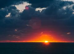 P1091296 (mr. Wood) Tags: ep5 computar olympus cyprus paphos larnaca mediterranian waves sunset sea water sky