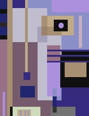 untitled (ladybumblebee) Tags: purples digitalart digitalabstract art squaresandrectangles digitalpainting