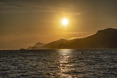 sundown (the-father) Tags: sun afternoon sundown sea red italy amalfitana mediterraneansea