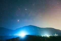 """""""The stars always shine brightest for those who dream"""" (Nutchanon Karikan) Tags: milkyway universe stars nightsky night lights shine darkness astro astrophotography landscape longexposure"""