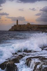 Castillo De Los Tres Reyes Del Morro (I saw_that) Tags: cuba havana sea blue surf defensivestructure fort garrison harbour harbor cool cool2 cool3 cool4 uncool uncool2 uncool3 uncool4 uncool5 uncool6 cool5 uncool7 iceboxuncool