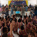 U.S., Royal Thai, and Singapore Airmen participate in a team-building competition with Ban PaLai school kids during Cope Tiger