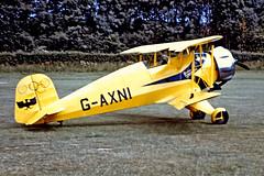 G-AXNI   Bucker Bu.133C Jungmeister [1001] Old Warden~G 29/06/1975 (raybarber2) Tags: 1001 biplane cn1001 egth flickr gaxni johnbabbagecollection planebase single slide ukcivil oldtimer