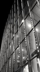 Modern Architecture / Berlin (Pixelchen1) Tags: handypicture samsung blackandwhite schwarzweis edited bearbeitet modernarchitecture mercedesbenzarena berlin monocrome street structure strukturen light