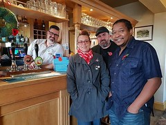 Yesterday exploring and judging the Holme Village Poppy Trail with @moorebeautymeraki @stew_howe and Charlie England at the Admiral Wells, Britain's lowest pub #Holme #Peterborough #poppies #lestweforget🌹 #100years (Tony Nero) Tags: artoftonynero tony nero art peterorough cambridgeshire creative out about craft paintings