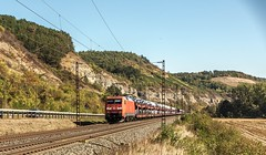 027_2018_09_27_Karlstadt_6152_057_DB_mit_Autotransportzug ➡️ Gemünden (ruhrpott.sprinter) Tags: ruhrpott sprinter deutschland germany allmangne nrw ruhrgebiet gelsenkirchen lokomotive locomotives eisenbahn railroad rail zug train reisezug passenger güter cargo freight fret retzbachzellingen bayern maintal gemünden würzburg atlu boxx db dispo eloc egp evb öbb rhc rpool rtb vtlt 0425 0440 0445 1223 1251 6152 6185 es64u2 6182 6193 boxxpress ell hlg lkw mrce novelis pct railtraxx txlogistik walter wiener lokalbahnen logo natur outddor