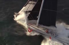 Sailing speed waves (mctjack) Tags: sailing sea sailboat seashore ship sports seascape boat water waves wind video monaco mediterranean publicdomain