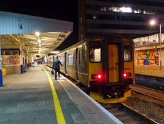 150202 Plymouth (1) (Marky7890) Tags: gwr 150202 class150 sprinter 2p94 plymouth railway devon devonmainline train